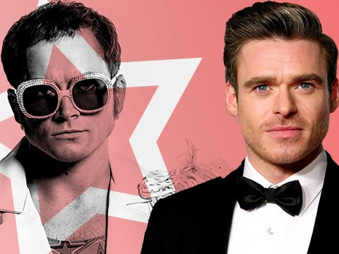 Richard Madden admits Rocketman sex scenes with Taron Egerton were 'not fun'