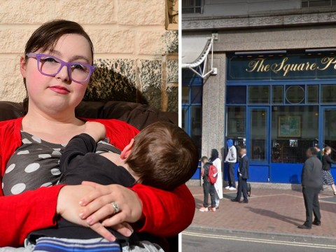 Breastfeeding mum 'told to cover up by Wetherspoons staff'