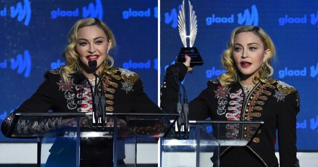 Madonna GLAAD awards