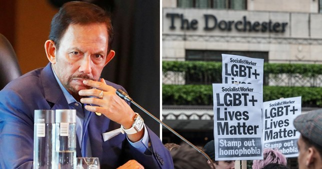 Sultan Hassanal Bolkiah said Brunei won't introduce the death penalty for gay sex after a global boycott of the state's businesses (Picture: Reuters/Getty)