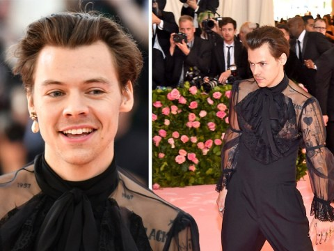 Harry Styles' 'ridiculous' Met Gala 2019 outfit slammed by Piers Morgan: 'Is he identifying as metrosexual these days?'