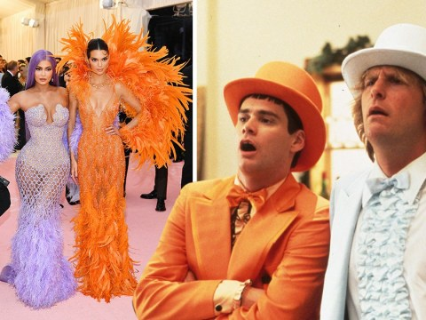 Kylie and Kendall Jenner are most improved at Met Gala – but remind us of a certain movie duo