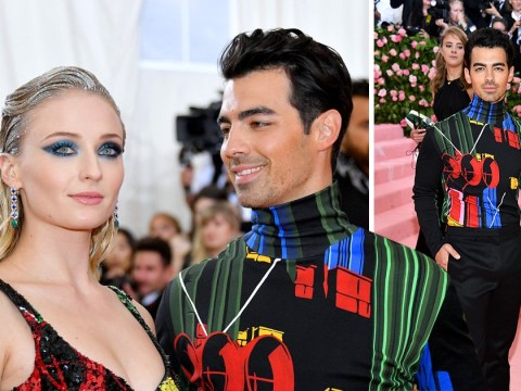 Sophie Turner and Joe Jonas make first public appearance as married couple at Met Gala