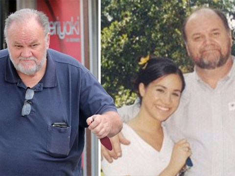 Thomas Markle hopes royal baby will help him reconnect with daughter Meghan