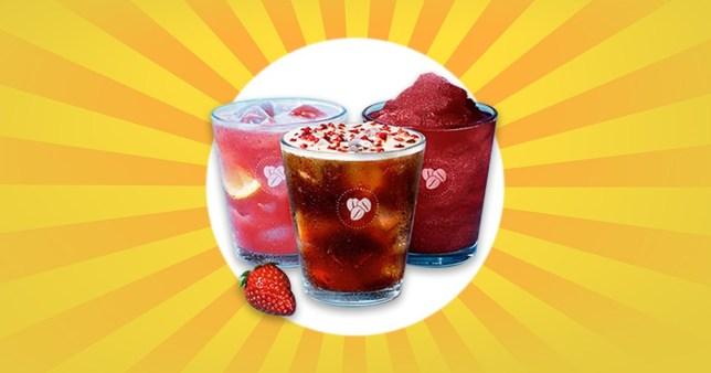 Costa's new summer drinks