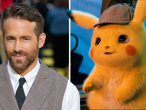 Ryan Reynolds shares 'leaked' version of Detective Pikachu – but all is not what it seems