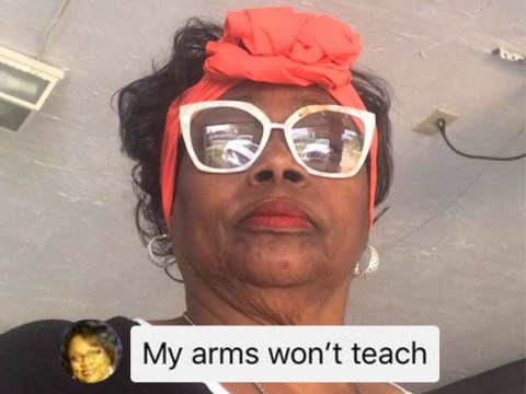 This grandmother who can't figure out how to take a selfie is all of our grandmas