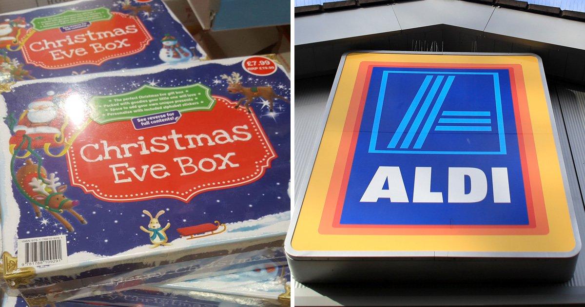 Aldi Christmas products