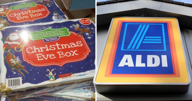 Aldi Christmas products