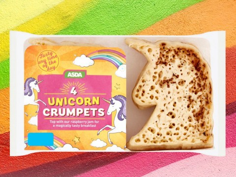 Asda is selling unicorn crumpets this spring