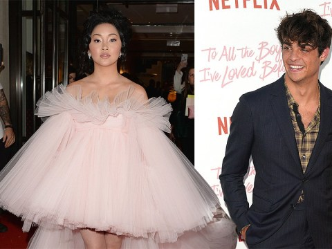Lana Condor makes Met Gala debut but forgets to take BFF Noah Centineo as her plus one