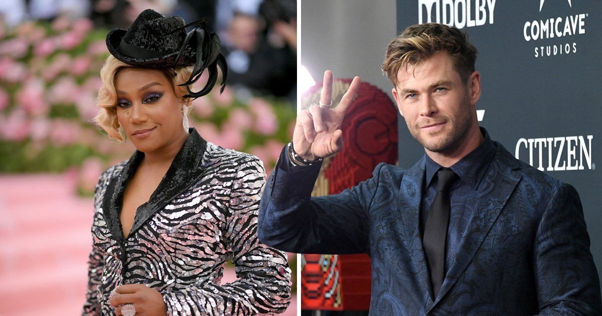 Chris Hemsworth to play undercover stripper as he teams up with Tiffany Haddish for new comedy