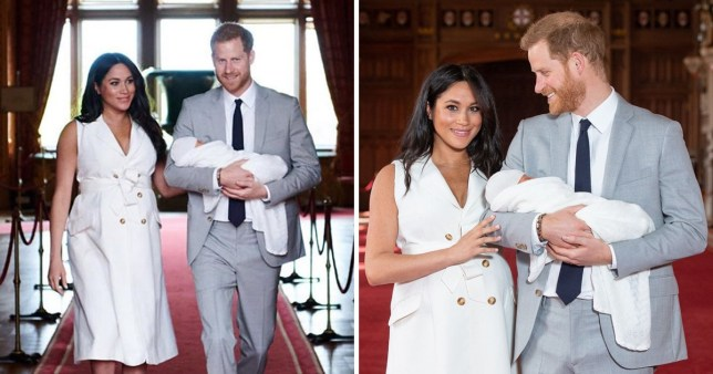 Meghan and Harry have shared a post on Instagram about Baby Sussex