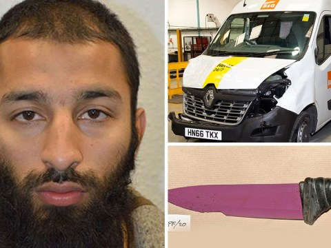 London Bridge terrorist stopped to wipe bloody knife on his beard during rampage