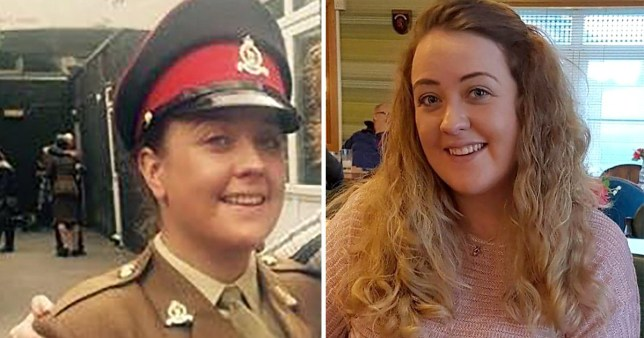 Private Mhairi Burnet was found dead in her bedroom after Christmas (Picture: INS News Agency)