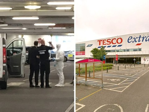 Man stabbed to death in Tesco car park