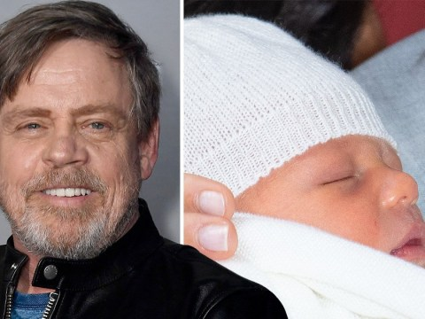 Mark Hamill jokes he helped Prince Harry choose Baby Sussex name and Star Wars co-star Harrison Ford inspired it