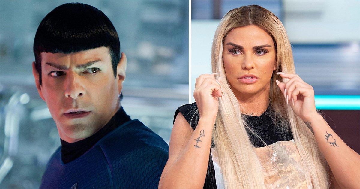 Katie Price 'worried her recent surgery has left her looking like Spock from Star Trek'