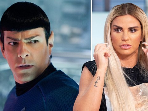 Katie Price 'worried her recent surgery has left her looking like Spock from Star Trek'