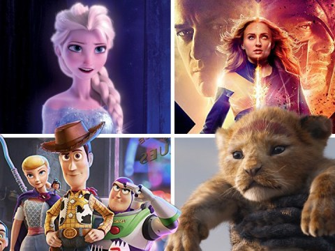 What is Disney's upcoming release schedule for 2019, 2020 and beyond?