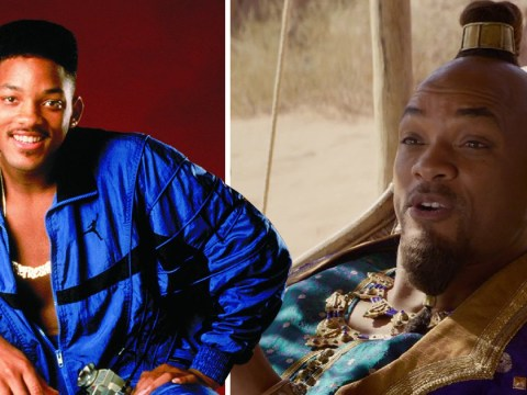 Did Aladdin teaser wiggle in Will Smith Fresh Prince Of Bel Air reference?