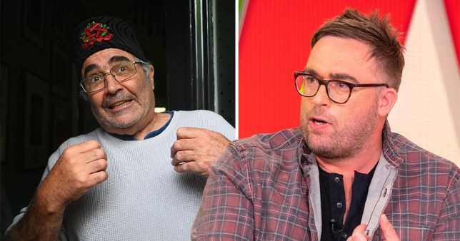 Danny Baker and Danny Wallace