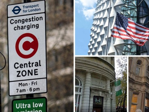 Foreign diplomats owe UK more than £116,000,000 in unpaid congestion charge fees