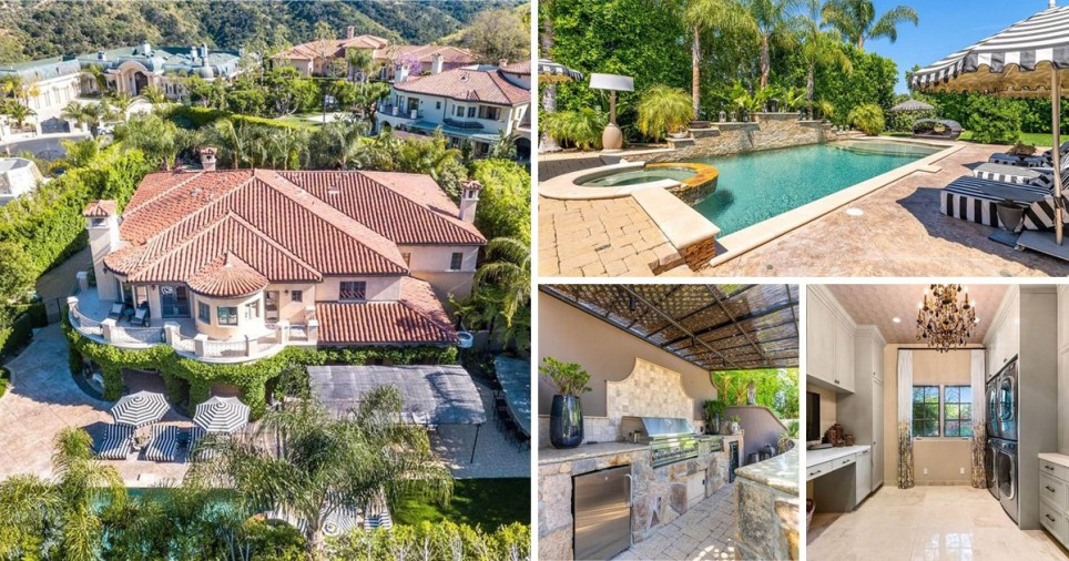 The Big Bang Theory star Kaley Cuoco has put her mansion in California up for sale