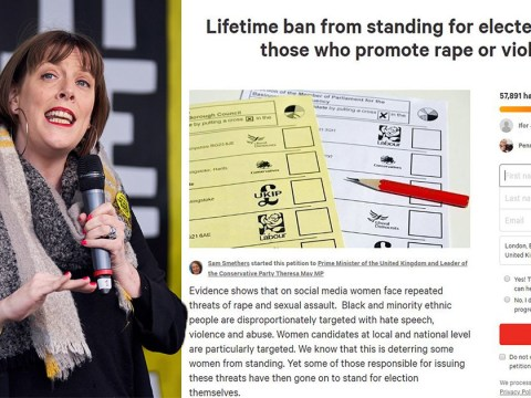 Petition to ban politicians who 'promote rape or violence' draws 60,000 signatures