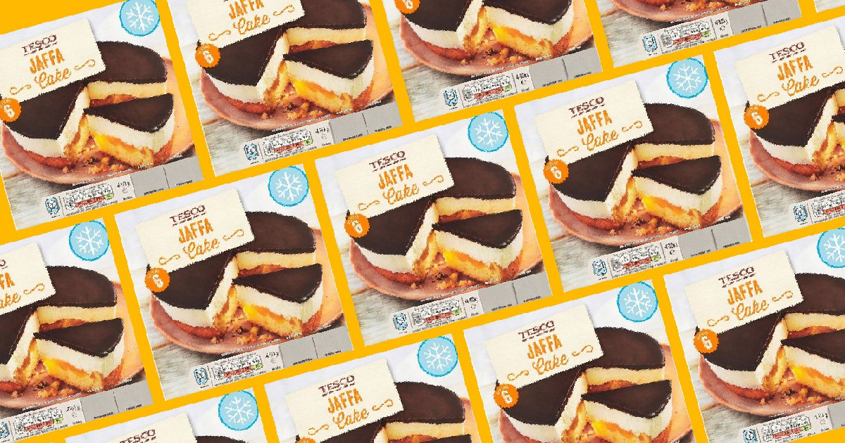 This giant Jaffa Cake dessert looks so good – and it's only £1.50