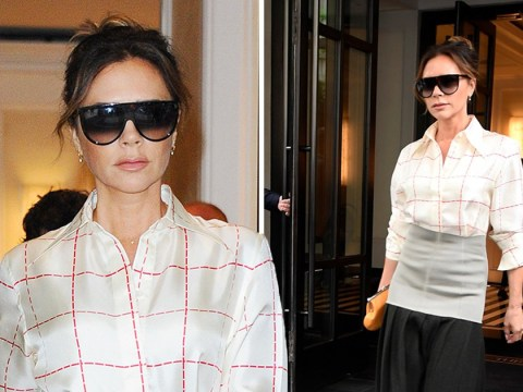 Victoria Beckham films a new project in New York after David gets six month driving ban