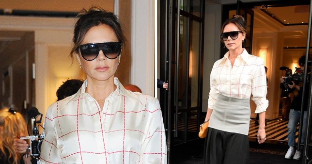 Victoria Beckham heads to a meeting in New York