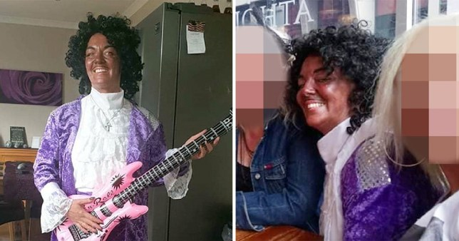 Catherine McBride said she isn't racist and thought putting dark foundation on to imitate Prince would be 'a bit of fun'
