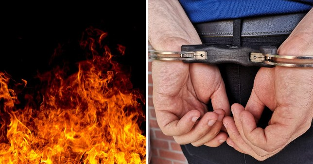 Police have arrested a man who allegedly set a 16-year-old girl on fire after she refused his family's marriage proposal.