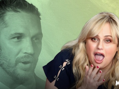 Rebel Wilson claims she once stuck finger up Tom Hardy's bum and it's so weird