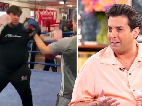 James Argent hits boxing ring to 'lose 10 stone' after Gemma Collins reunion