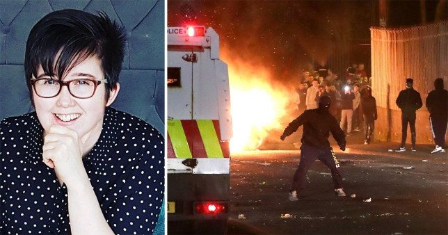 Two have been charged for rioting and will appear in court on Saturday in Londonderry in connection with the Lyra McKee investigation