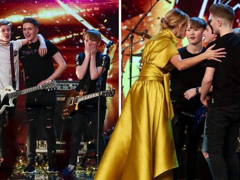 Who are Britain's Got Talent's Chapter 13, who got Amanda Holden's Golden Buzzer?