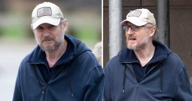 Liam Neeson in New York