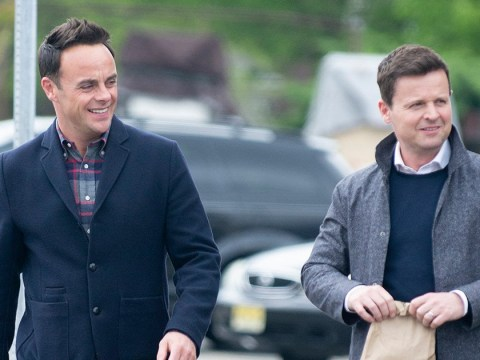 Ant and Dec all smiles as they film 'emotional' new series in New York