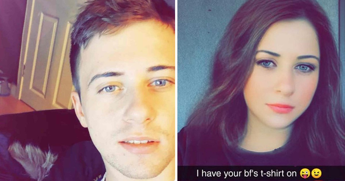Boyfriend uses Snapchat filter to hilariously troll girlfriend into thinking he's cheating