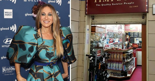 Sarah Jessica Parker declares Timpson key cutters in High Street Kensington her 'favourite wee shop'