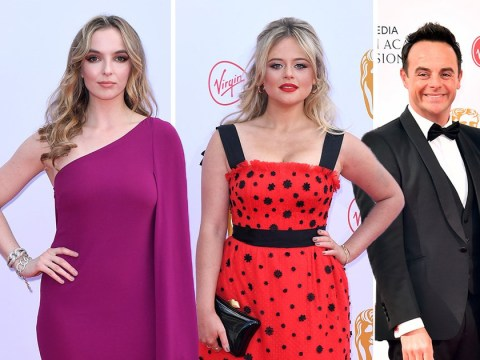 Jodie Comer leads star-studded TV Baftas red carpet alongside Ant and Dec and Emily Atack