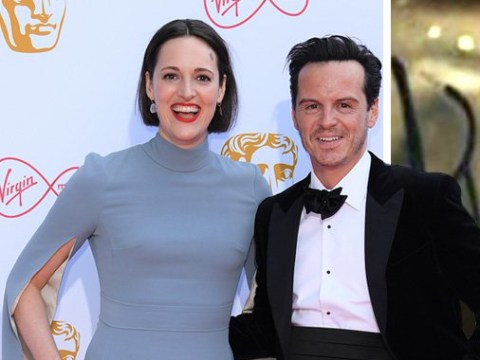 Fleabag and Hot Priest melt our hearts once more as Phoebe Waller-Bridge and Andrew Scott reunite at Bafta TV Awards