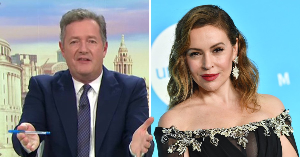 Piers Morgan 'happy' to offer Alyssa Milano a sex strike over Georgia abortion law campaign