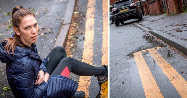 Scott Taylor has been fined £4,000 for parking on yellow lines outside his house