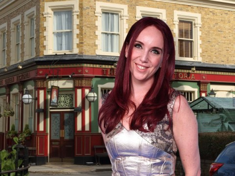 Who is Kate Oates and how long has she been a producer for EastEnders?