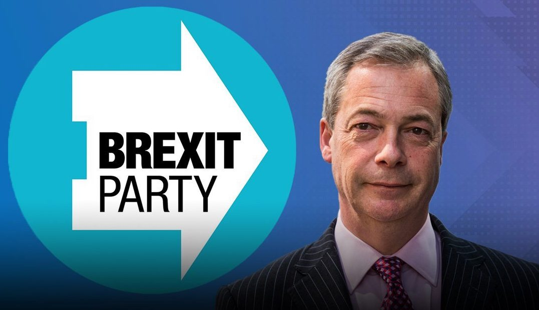 Brexit Party logo 'subconsciously manipulates voters into backing Farage'