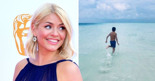 Holly Willoughby shares adorably rare photo of son Harry for 10th birthday