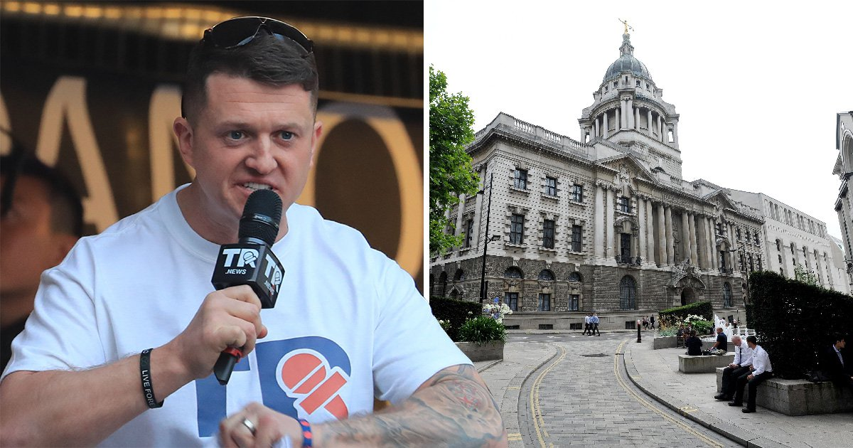 Tommy Robinson, aka Stephen Yaxley-Lennon, will appear at the Old Bailey today